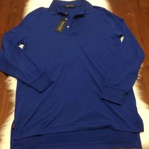 NWT Men's Polo Ralph Lauren Golf Long Sleeve Shirt